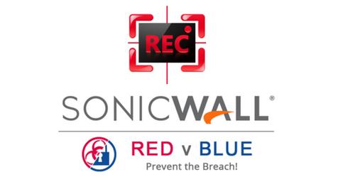 Gravação Red vs Blue SonicWall