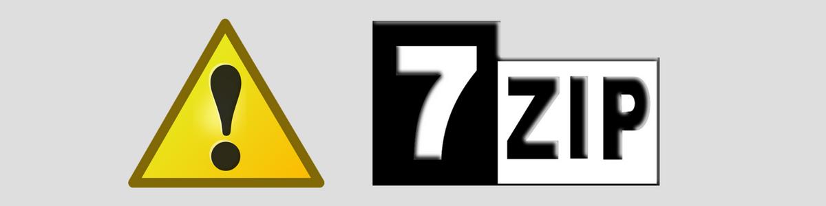 Atenção: Séria vulnerabilidade de segurança é encontrada no 7-Zip