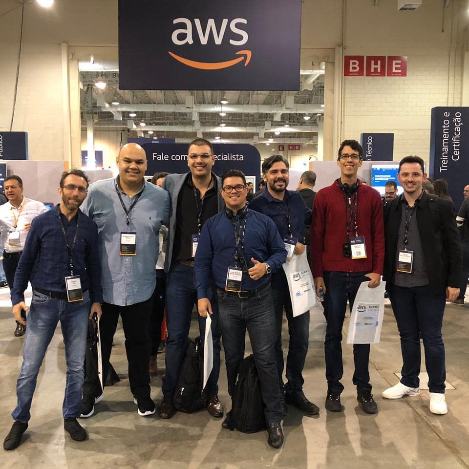 Time Infomach no AWS Summit 2018