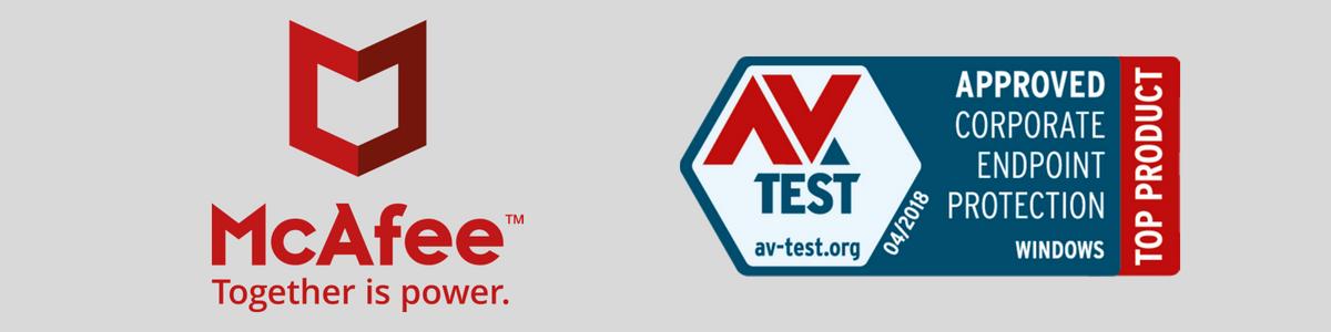 McAfee recebe prêmio de Top Product, da AV-Test