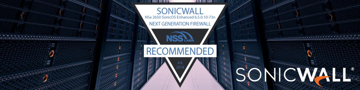 """SonicWall recebe classificação """"Recomendado"""" no Security Value Map da NSS Labs e reforça liderança"""