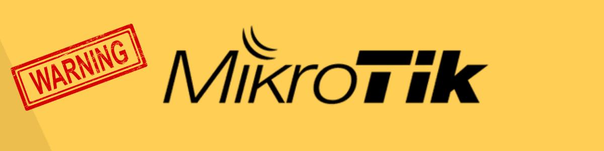 Vulnerabilidade em Roteadores Mikrotik passa de gravidade média para crítica