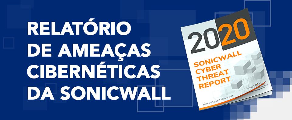 Capa do post - Relatório de ameaças cibernéticas da sonicwall
