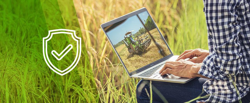 Capa de post - O que é cibersegurança gerenciada e por que ela é tão importante para o agronegócio?